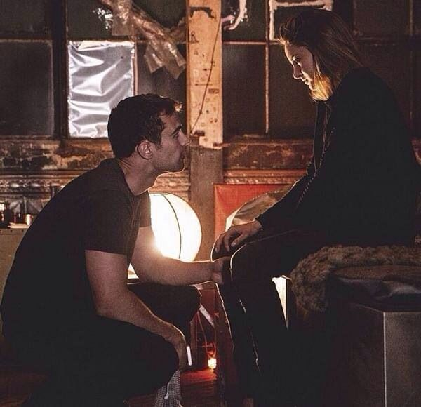 17 Best images about tobias and Tris Divergent on ...