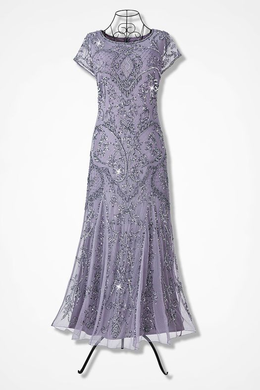 daa59ee06ec Enchantée Beaded Dress by Pisarro Nights