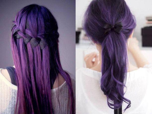 Domani mi tingo i capelli di viola!