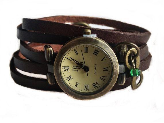 Wrap Watch Bracelet Watch Wrist Watch Vintage by TankGirlShop