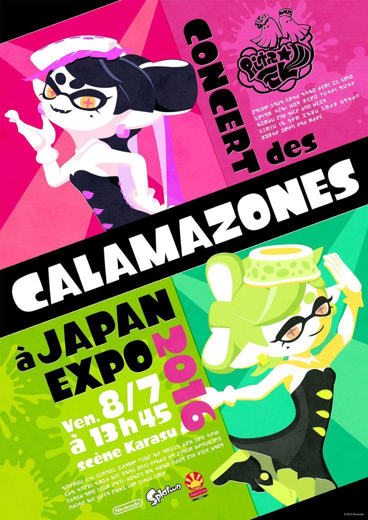 Splatoon : le concert des Calamazones à Japan Expo 2016