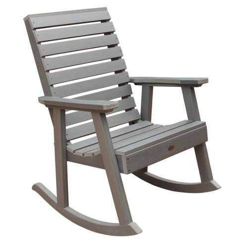 highwood® Weatherly Recycled Plastic Rocking Chair - Nothing has your back  quite like the highwood - Best 25+ Plastic Rocking Chair Ideas On Pinterest Eames Rocking