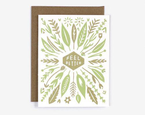 CARD | FEEL BETTER CARD