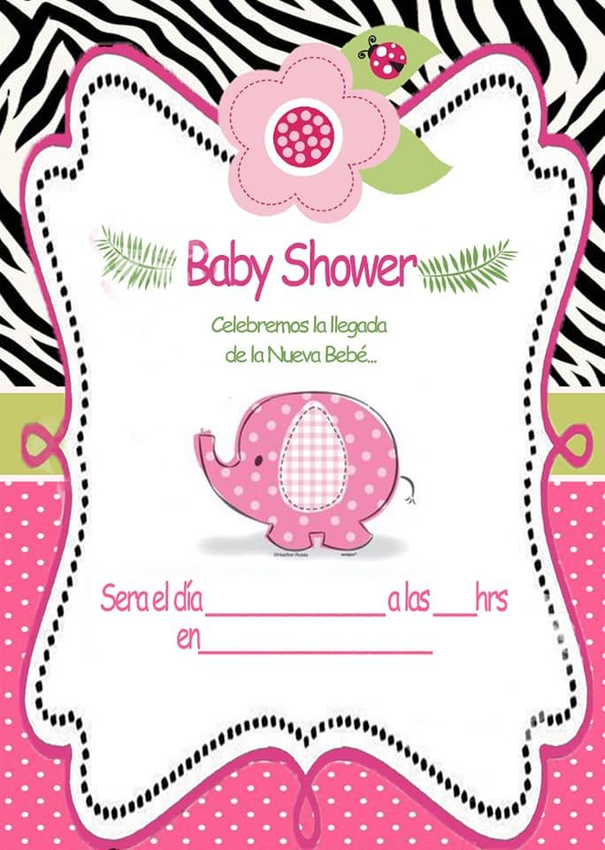 Tarjetas Babyshower Plantillas Para Baby Shower Baby