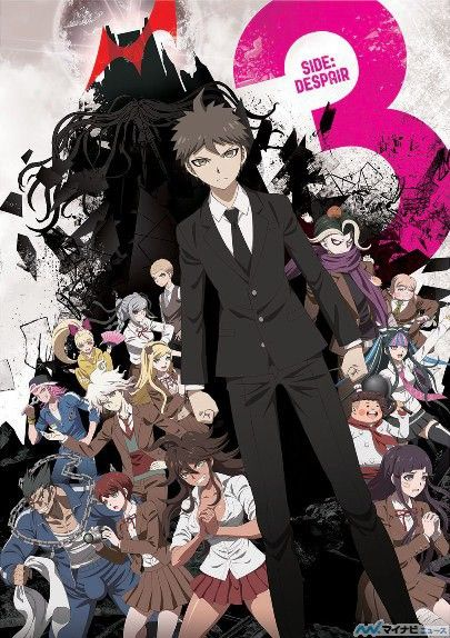 Danganronpa 3 Anime's New Visuals For Both Arcs Unveiled - News - Anime News Network