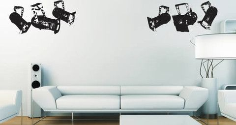 Spot Light wall decals can be used as a pack or you can use scissors to separate each tapestry designs. Have fun!  Visit this link for more designs: https://limelight-vinyl.myshopify.com/