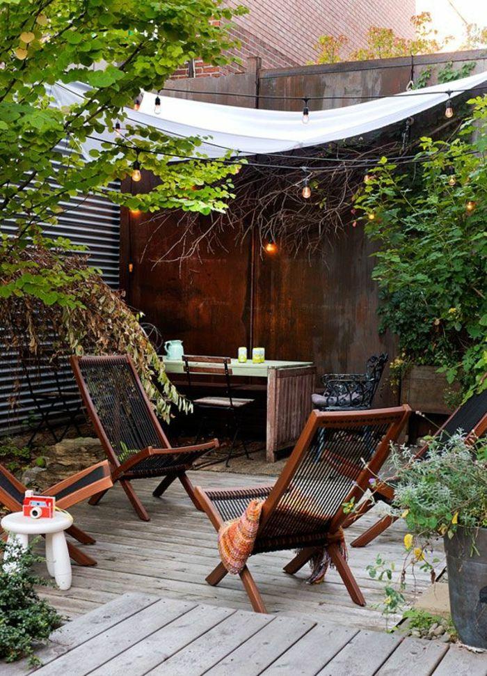 60 photos comment bien am nager sa terrasse cour le jardin et jardins - Amenager sa cour exterieur ...