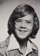"Tim Robbins - in his 1976 ""Indicator"" yearbook at Stuyvesant High School in New York, NY."