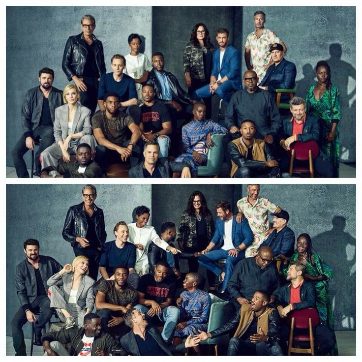 Thor ragnorok and black panther cast