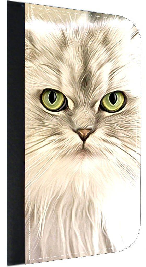 Angry White Kitten Print Design Apple iPhone 7 Universal (Not Compatible with the iPhone 7 Plus) PU Leather Wallet Case with Flip Cover and Magnetic Clasp. Quality Leather-Look Wallet Case with Flip Cover and Magnetic Clasp Compatible with the Standard Apple iPhone 7 Universal (Not Compatible with the Apple iPhone 7 Plus). Bright, Eye-Catching Flat-Printed Image on Metal Substrate with Glossy Finish. Made and Manufactured in the U.S.A. Excellent Customer Service! Great Gift Idea!. As the...