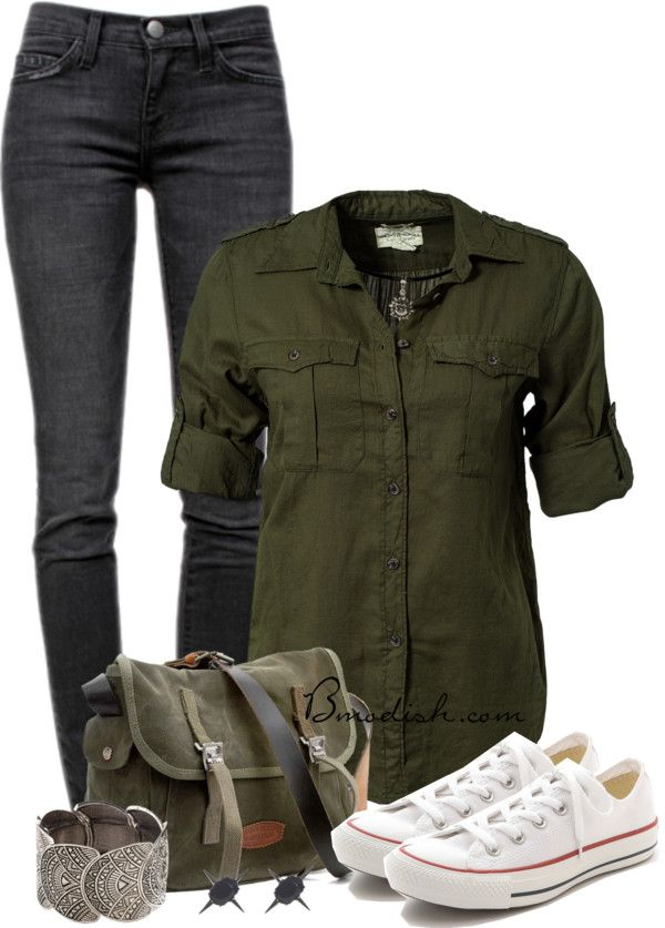 casual teen back to school outfit idea