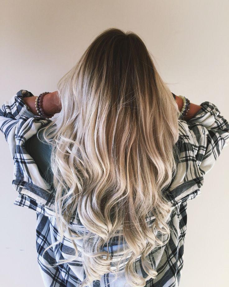 17 Best ideas about Blonde Dark Roots on Pinterest