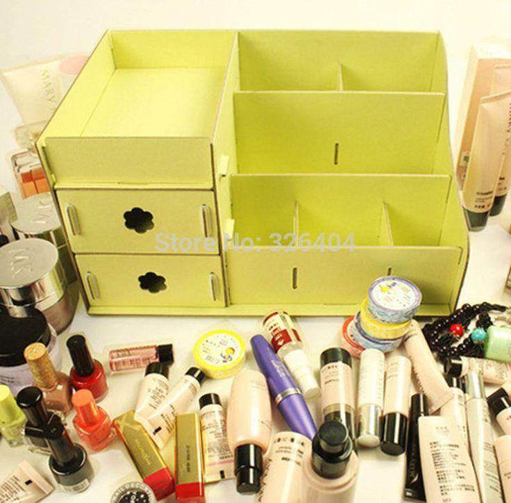 makeup organizer diy