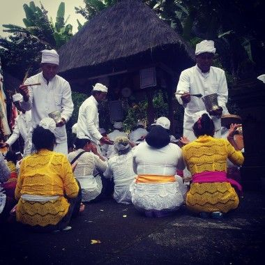 Hindu ceremony in Bali