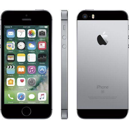 Apple iPhone SE - 16GB - GSM Unlocked - Space Gray (Certified Refurbished)