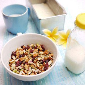 Mix de nuci și semințe coapte (de la 2 ani)