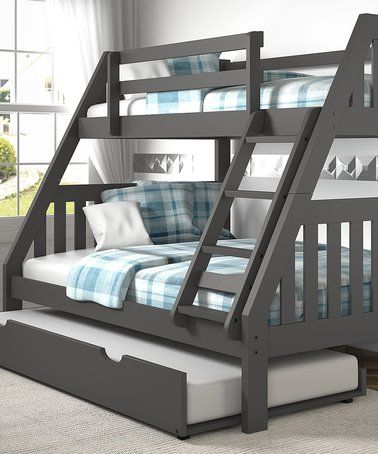 Look At This Zulilyfind Dark Gray Mission Twin Full Trundle Bunk