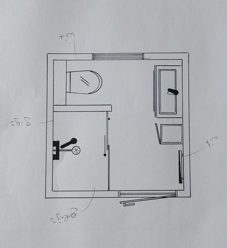 Meer dan 1000 afbeeldingen over thuis badkamer op pinterest toiletten ronde spiegels en - Spiegel wc ontwerp ...
