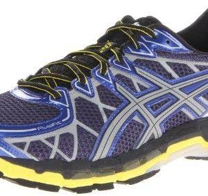 ASICS Men's Gel Kayano 20 Lite Show Running Shoe,Surf/Lite/Blazing Yellow