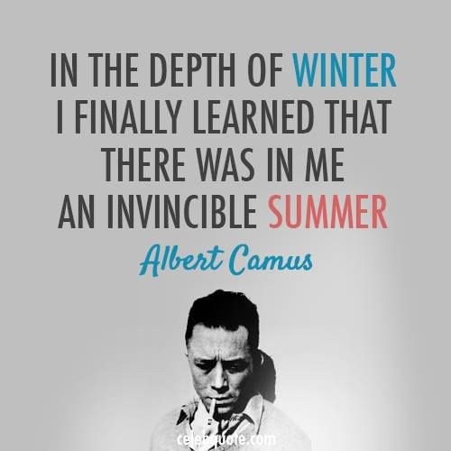 Albert Camus Summer Quote: 1000+ Images About Influential Quotes On Pinterest
