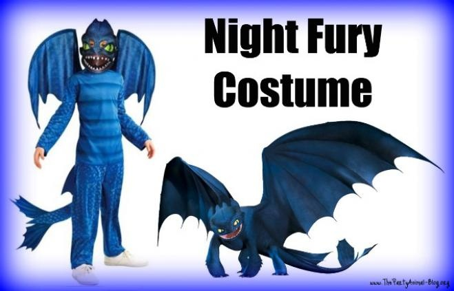 Toothless Dragon Costume