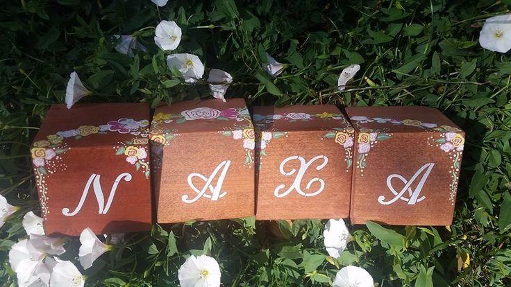 wooden blocks with natural design - facebook/naxa design