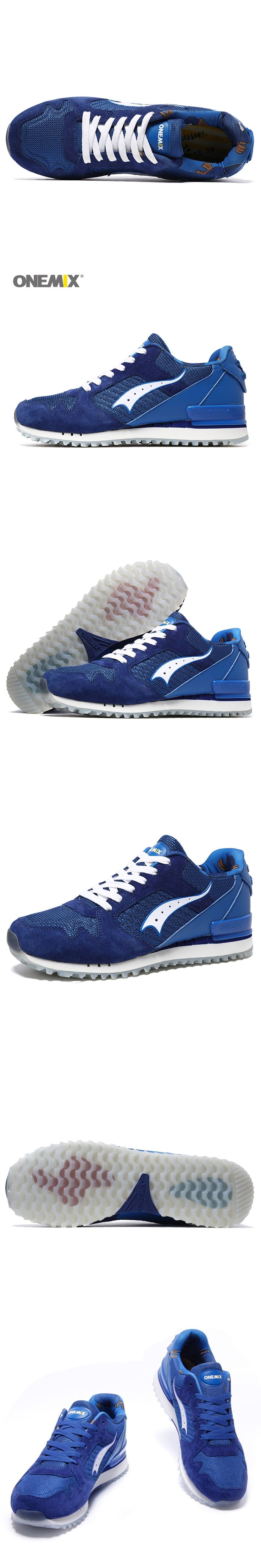 ONEMIX retro sports shoes breathable portable shoes men walking sports jogging shoes outdoor sports EU39-45 1112