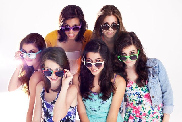 This is the Cimorelli family they are all sister and great singers. To hear them just search up Cimorille on YouTube or the Internet. They are AWESOME