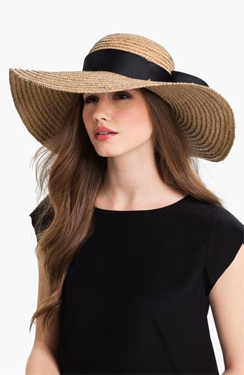Jonathan Adler Floppy Straw Sun Hat available at #Nordstrom  This is a must have...& I've got one!