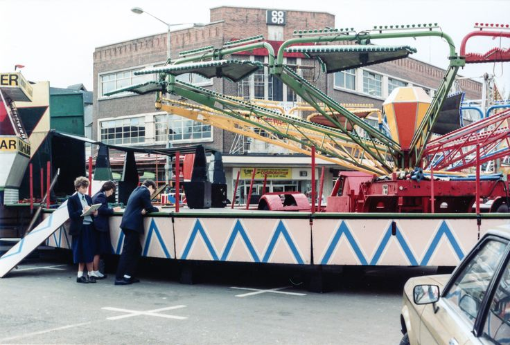 Ilkeston Charter Fair, 1983 - Ilkeston Fair, 1983 #3
