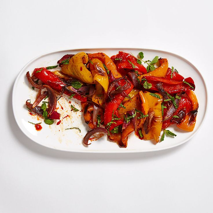Tricolour Moroccan Peppers and Onions Recipe | Weight Watchers Canada