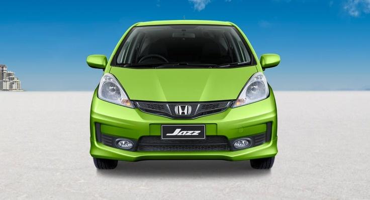 Honda Jazz full front view