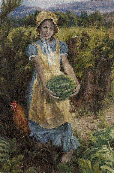 In The Melon Patch by Carla D'aguanno