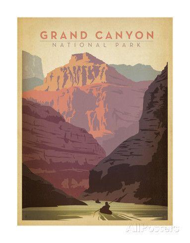 Parque Nacional del Gran Cañón Arte por Anderson Design Group en AllPosters.es