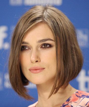 Hairstyles for Square Faces: Keira Knightley