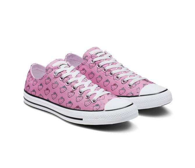 5259baf32b1ee Converse x Hello Kitty Adult Chuck Taylor All Star Low Top in 2019 ...