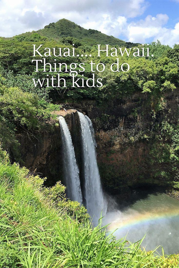One Of My Favourite Destinations With Kids Kauai The Garden Island Of Hawaii Is Breathtakingly Beautifu Kauai Vacation Hawaii Kids Best Family Vacation Spots