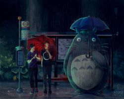My Neighbor Totoro (ft Dan and Phil) by IntoTheFrisson thihs is so adorable o.o