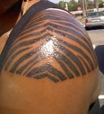 Image result for zebra print tattoo fill in