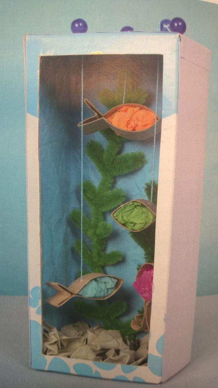 Akvaario, kuva Taika-lehdestä