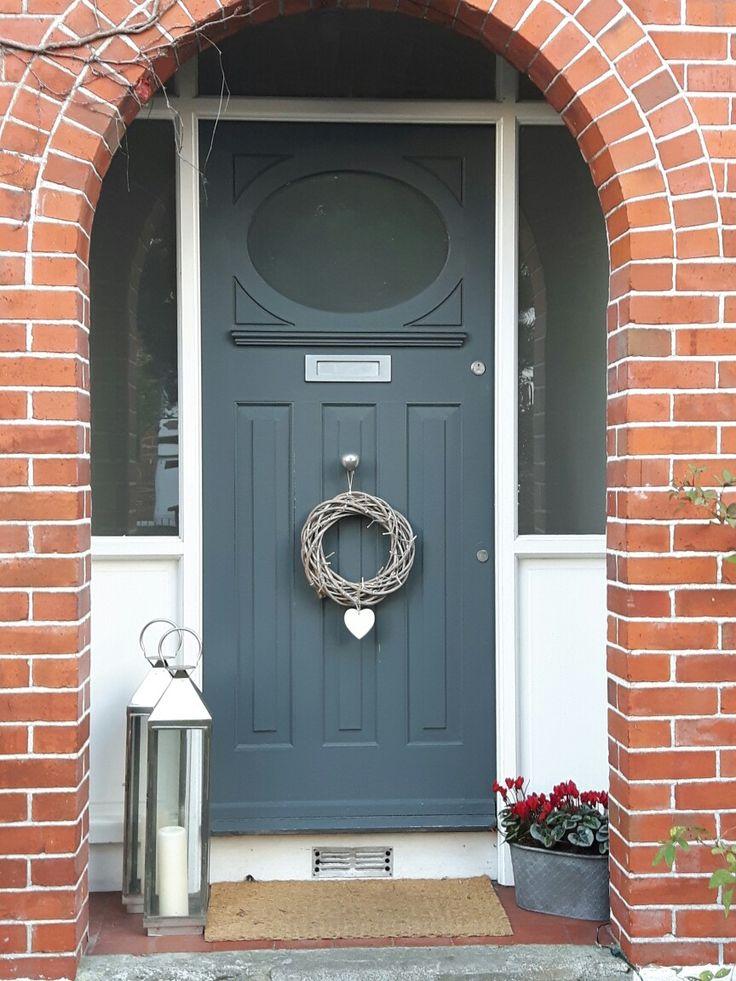 Christmas doorway Dundrum Ireland