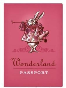 Alice in Wonderland Notebook passport #best-gift-for-book-lover #best-gift-for-book-lovers #best-gift-for-nerd