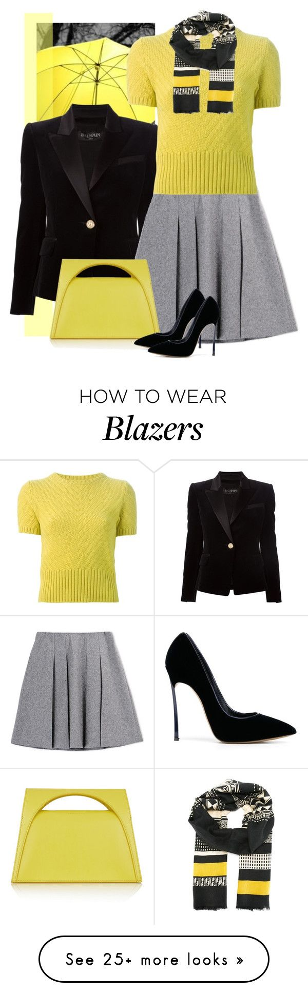 """ygb"" by bodangela on Polyvore featuring Balmain, Marni, J.W. Anderson, Casadei and Etro"