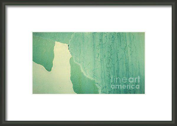 Patina 3 Framed Print By Priska Wettstein