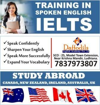 * Daffodils Best IELTS Training in  Ludhiana # Daffodils Study Abroad, SCO : 25, Model Town Extension, Near Krishna Mandir, Ludhiana. +91-161-4601010, +91-92165-09206 Regular batch (Monday to Saturday)  Late Evening Batches are also available. Daffodils Study Abroad, SCO : 25, Model Town Extension, Near Krishna Mandir, Ludhiana. +91-161-4601010, +91-92165-09206