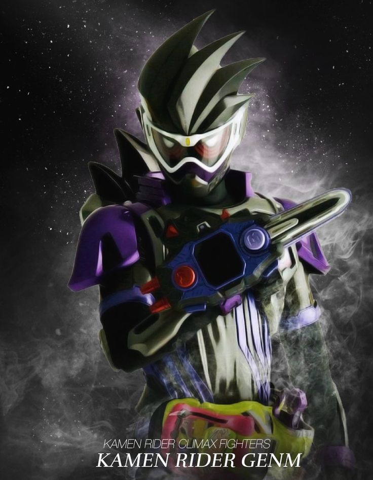 Kamen Rider Genm Climax Fighters Style by phonenumber123