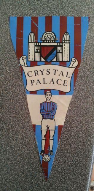 1960's Crystal Palace football club pennant