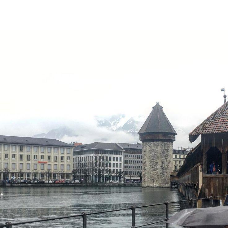 #luzern #lucerne #switzerland #lake #mountains #bridge #snow #clouds #rain #beautiful #view #rosinaperfumery #nicheperfumery #shop #niche #perfumes #giannitsopoulou6 #glyfada #athens #greece