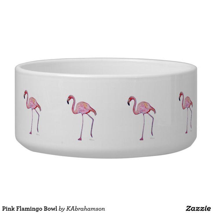 Pink Flamingo Bowl, cute for pets, pink flamingo gift idea, flamingo lover