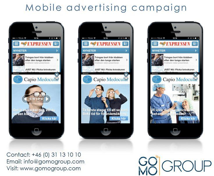 GOMO Group hjälper dig att planera den bästa mobil annonsering i Sverige. GOMO Group är ledande inom mobil webbutveckling och planerar den bästa mobila marknadsföring strategi för ditt företag.
